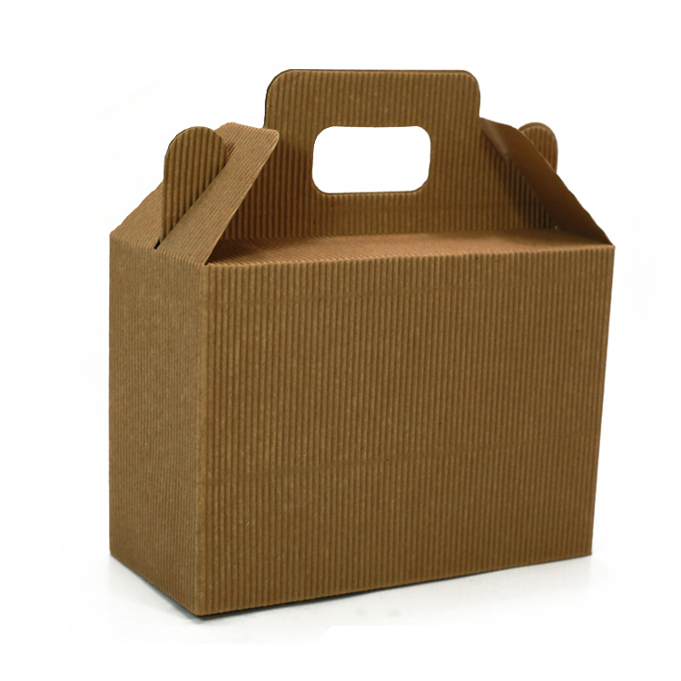 CWBSL901 recycled brown corrugated foldable paper gift packaing Box with divider