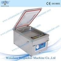 DZ-260 Nitrogen Gas Flush Portable Pillow Table Type Vacuum Packing Machine Sealer