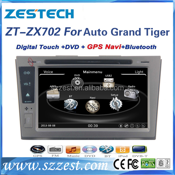 For ZX Auto Grand Tiger 2 din car radio with navigation China