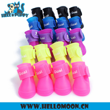 Silicone Outdoor Rain Lovely Dog Shoes