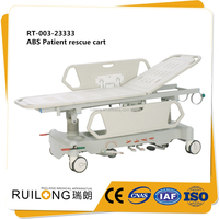Attractive And Durable Cheap ABS Hospital Ambulance Transfer Bed