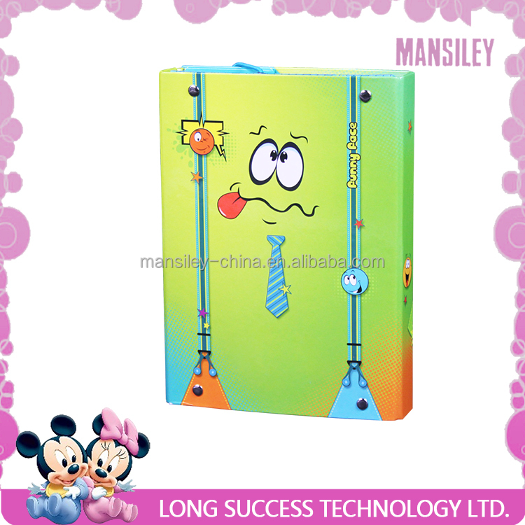 Mansiley cute elastic folder box