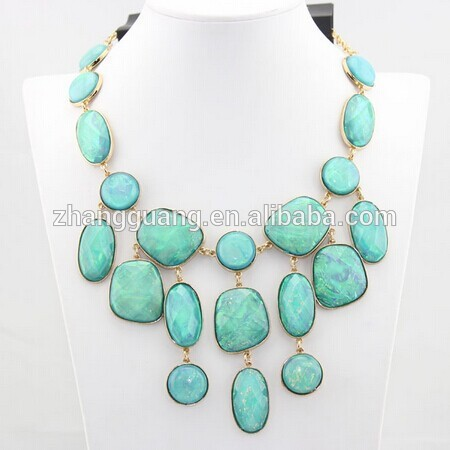 2016 Fashion Crystal Choker Chunky Statement Necklace