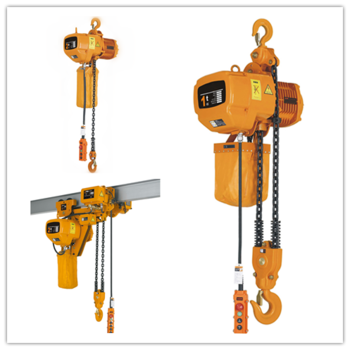 Mobile mini 1 ton electric chain hoist with wireless for 1 4 ton chain motor