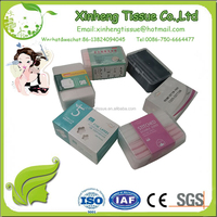 New Products Pur facial skin cleaning square cosmetic cotton pads