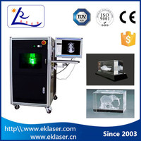 Price Competitive c02 CNC Crystal 3d laser engraving machine price