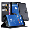 Premium Wallet Leather Case With Card Slots Moblie Phone Case Cover for Sony Xperia C5