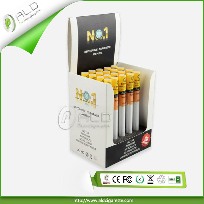 Soft tip 800 puffs disposable e cigarette from ALD Group Limited