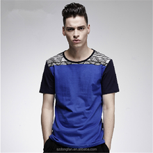 New Model Men's T-shirt Printing, Clothes Men Fashion Picture With Custom Garment
