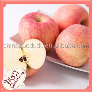 Linyi good quality of Fuji apple Sweet Fresh red Fuji apple for Christmas