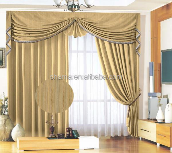 Permanent flame retardant curtain fabric