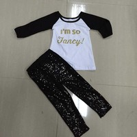 Kids girl fall children boutique clothing sets baby china supplier western girls outfit wholesale teen clothing outfits