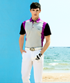 2017 newest men's short sleeve hot sale polo golf shirt