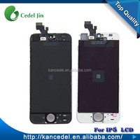 Fast Delivery Large Stock Wholesale LCD With Digitizer Assembly For iPhone 5