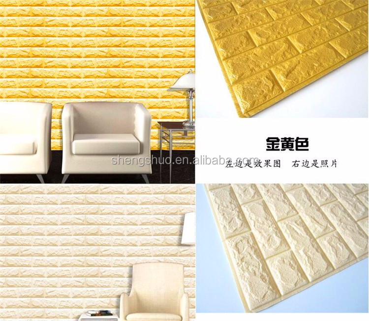 Your own style 3D Mural Wallpaper/Brick Wall Paper Interior decoration wallpaper
