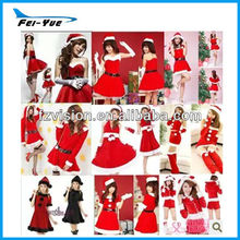 Supply Wholesale High Quality Cosplay Costume Xmas