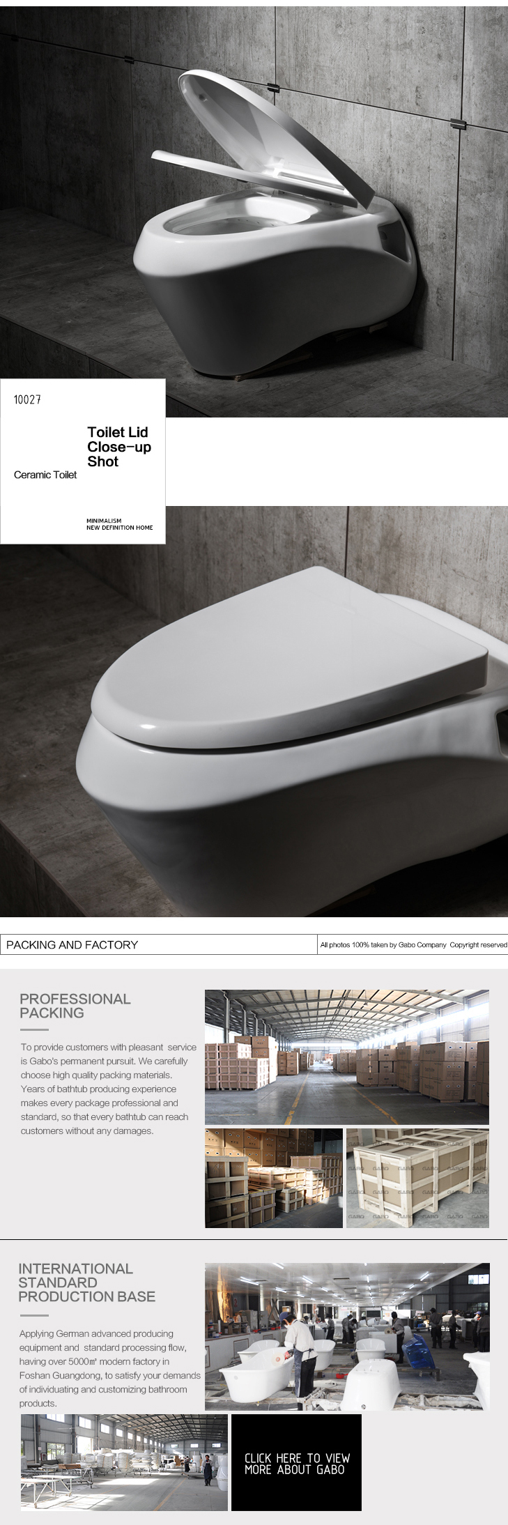 High-class Mocern Wall Mounted Macerator Ceramic Toilets