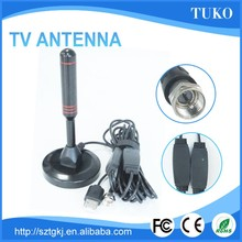 Portable Magnetic wireless uhf vhf outdoor digital tv antenna with amplifer