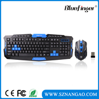 Factory Cheap USB wireless keyboard and mouse for computer