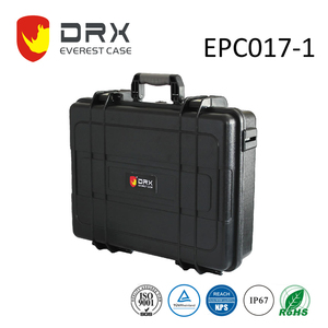 EVEREST rugged plastic carrying instrument case with foam