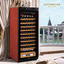 Factory Direct Offer 100 Bottles Solid Wooden Wine refrigerator Cabinet with independent decanting zone