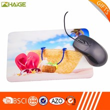 OEM Promotional Customized logo printed rubber gaming mouse pad