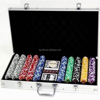 500 pcs ABS poker chip set