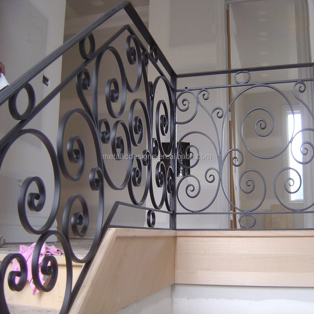 iron balusters for stairs,new design home decoration wrought iron stair railing
