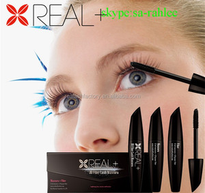 Amazing invention REAL PLUS 3D fiber lash mascara/nickel free mascara/investor wanted