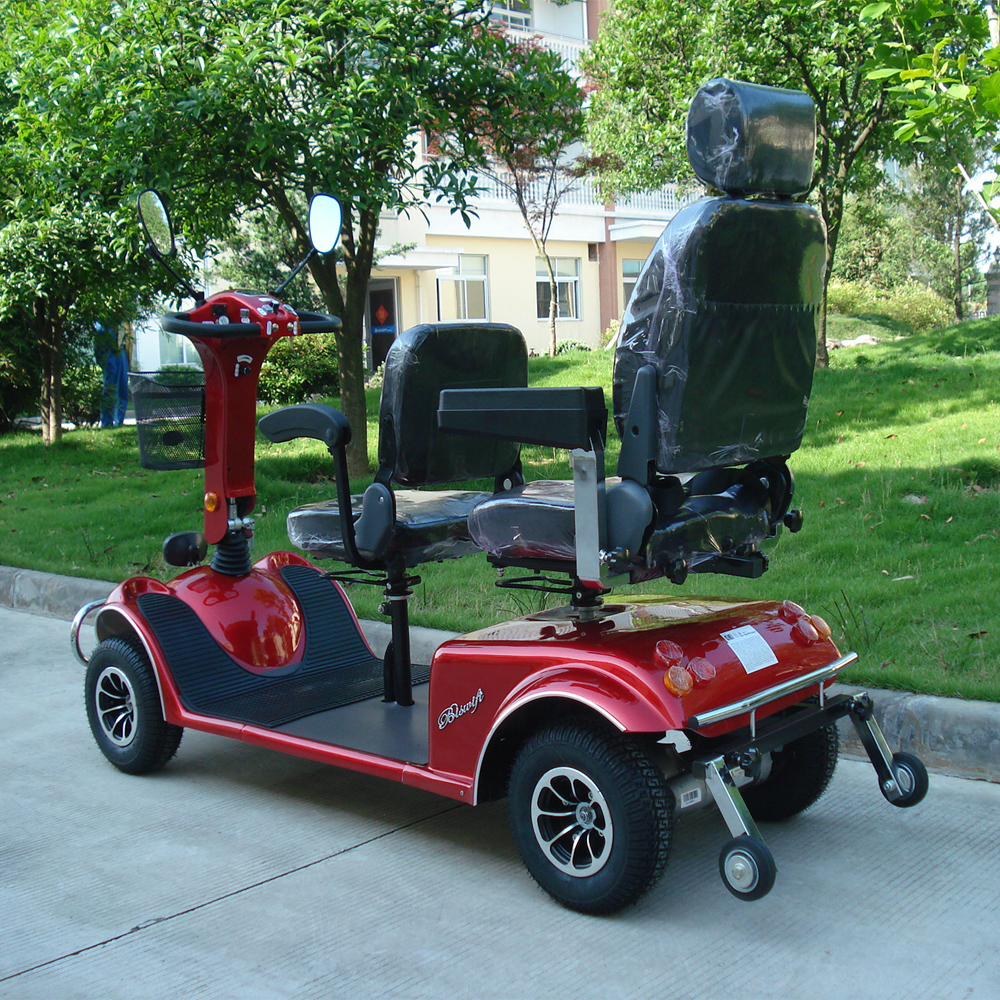 Two seat conversion kit electric mobility scooter