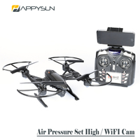 Fast Selling Cheap RC Toys Product Air Pressure Set High Mode Drone Helicopter with WiFi Camera