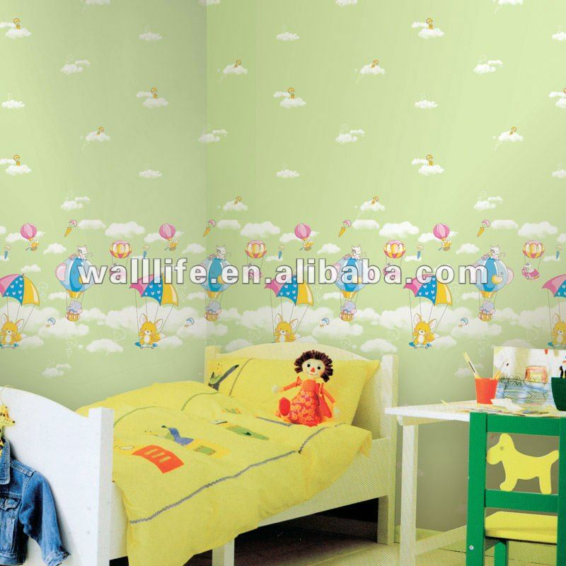 GB714 Decorative vinyl wallpaper for bedroom kids