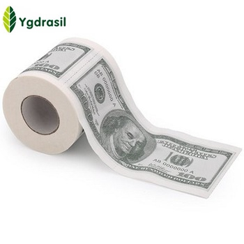 OEM Hot Sale Custom China Manufacture Money Toilet Paper Roll