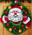Christmas craft kit with a Santa Claus design