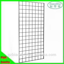hanging metal wire mesh gridwall panel for display rack