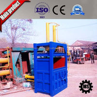 150Ton Semi-automatic baler for waste paper/PET bottle/plastic film