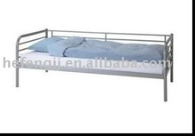 Simple design cheap metal day bed single bed on sale