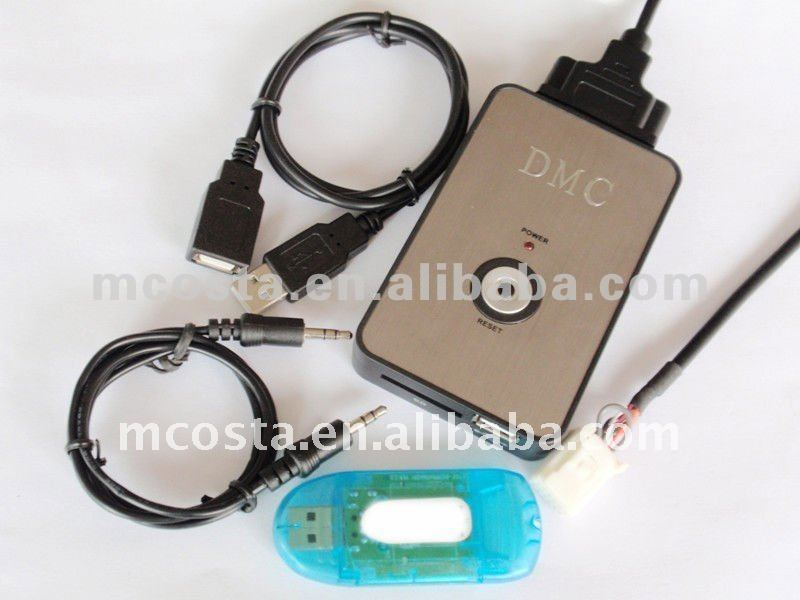 Car USB SD MP3 Player Input Adapter DMC-9088