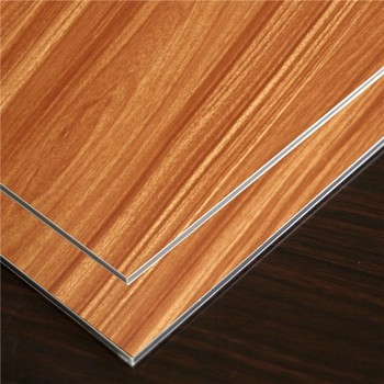 Hot Sale Wooden Alucobond sheet with CE certificate for kitchen cabinet door panel