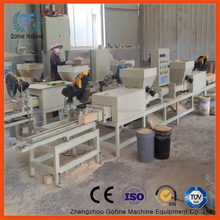 waste fiberboard processing machine for pallet