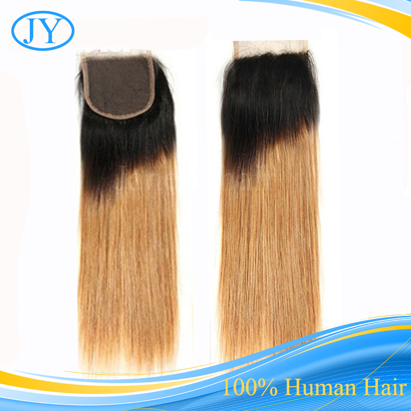 Wholesale Brazilian Straight Ombre Hair Wig In China For Real Human Wigs 4*4