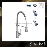 Pull Down Spray Chrome Upc Kitchen Foot Operated Faucets