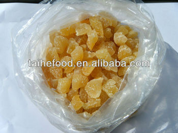 dried fruit, dried ginger slice/dice/ stripe, hot sale dried fruit