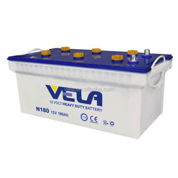 N180-DRY Low Price Chinese Lead Acid Car Battery