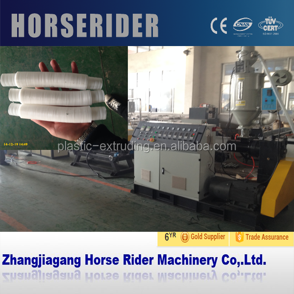 New Technology and High Output Cable Threading Pipe Making Machine