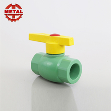 Wholesale Building Materials PPR Copper Thread Ball Valve