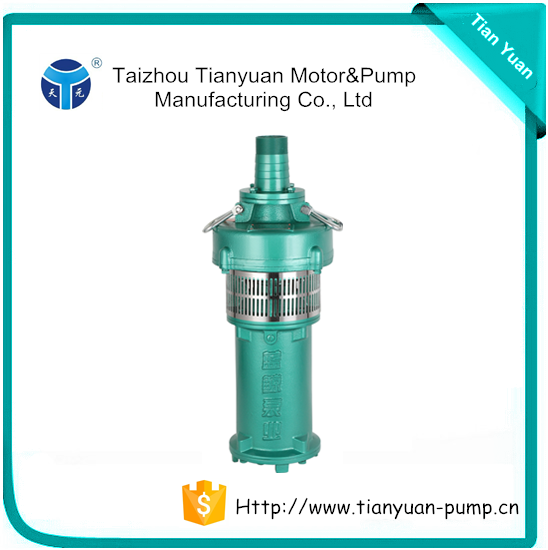 QY Latest Water Pump Oil Filled Electric Motor