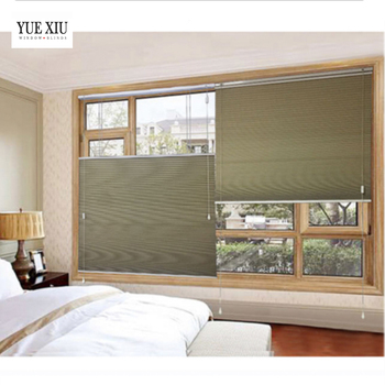 Interieur/indoor home decor top down bottom up Vlag-raising honingraat blinds/shades