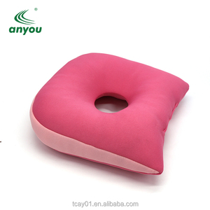 Economical Therapeutic Wedge Waterproof Non-Slip Wheelchair Foam Seat Cushion