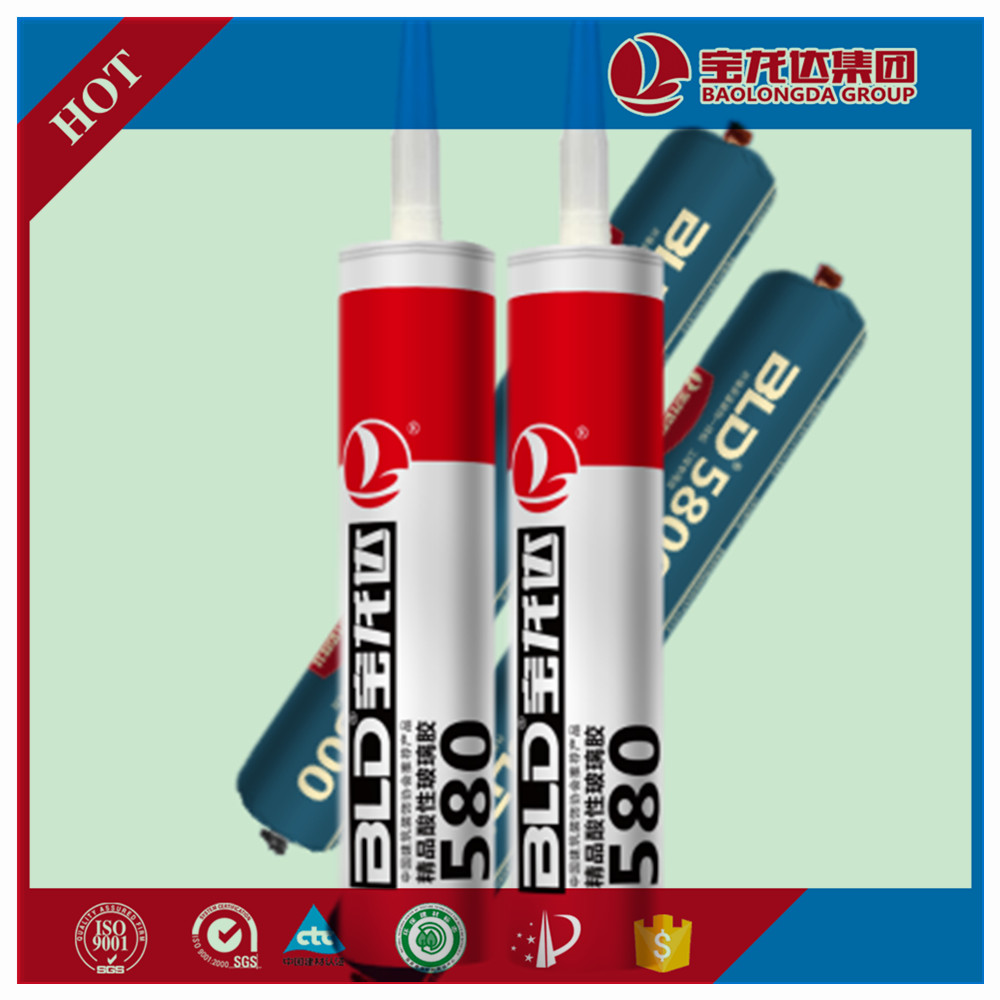 High quality construction chemical gp Silicone Sealant for concrete joint